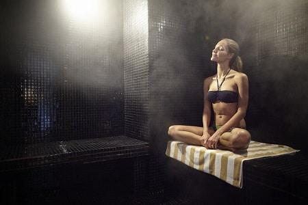 сауна, гореща вана, бременност, температура