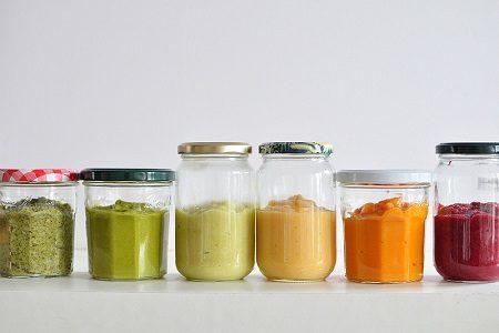 бебе, зеленчуци, храни, витамини, пюре