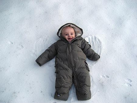 бебе, зима, студено, топло