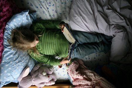 четене, дете, книги, чете