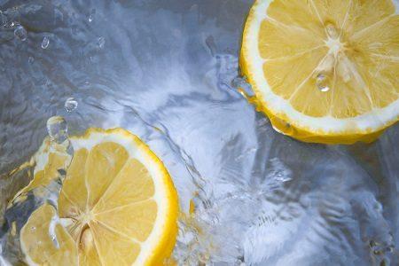 лимонов сок, коса, изплакване, скалп