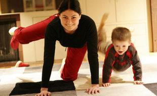 майка, енергия, упражнения, витамини, деца