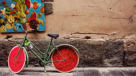 дете, колело, каране, велосипед